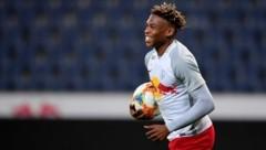 Junior Adamu durfte bei seiner Startelf-Premiere über gleich zwei Treffer jubeln. (Bild: GEPA pictures/ Florian Ertl)
