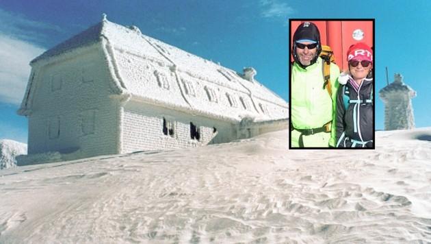 Alois und Karin Leitner liebten die Berge, beide waren routinierte Alpinisten (Bild: Wilhelm Reinhard, ZVG)