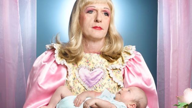 "Portrait: Richard Ansett, Großbritannien - Bild ""Grayson Perry - Birth"" (Bild: Richard Ansett/Sony World Photography Awards)"