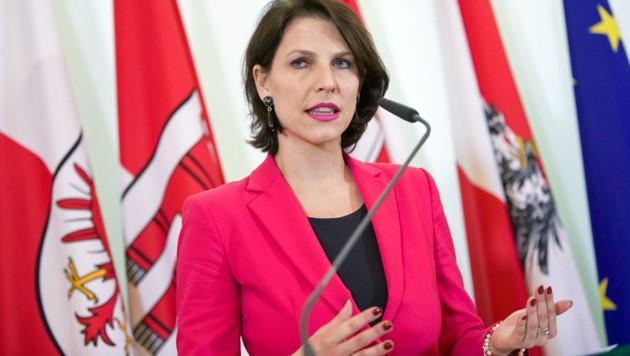 Karoline Edtstadler (ÖVP) (Bild: APA/Georg Hochmuth)