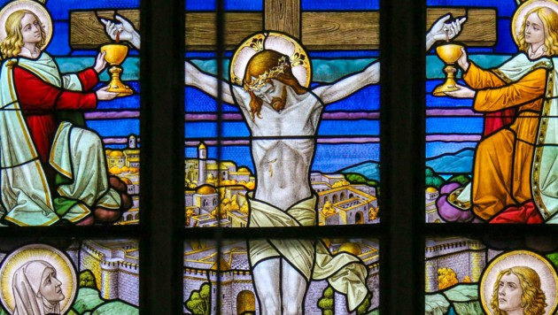 Am Karfreitag starb Jesus am Kreuz. (Bild: stock.adobe.com)
