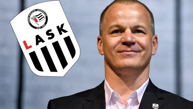 LASK-Präsident Siegmund Gruber