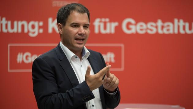 Landeshauptmann-Stellvertreter Michael Schickhofer