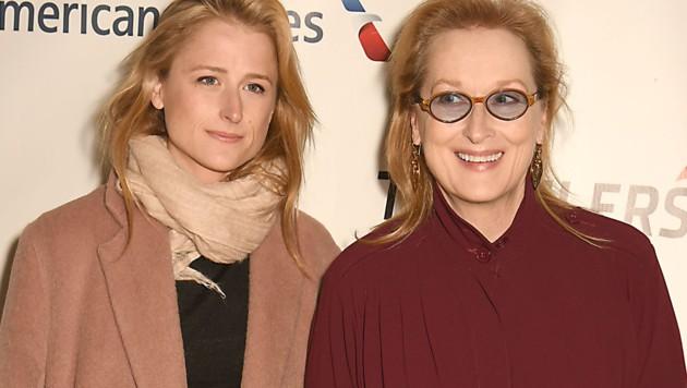 Meryl Streep mit Tochter Mamie Gummer (Bild: www.PPS.at)