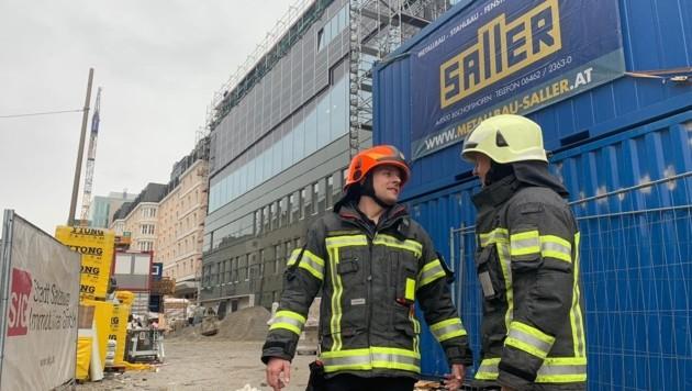 Feuerwehreinsatz im Paracelsusbad (Bild: Markus Tschepp)