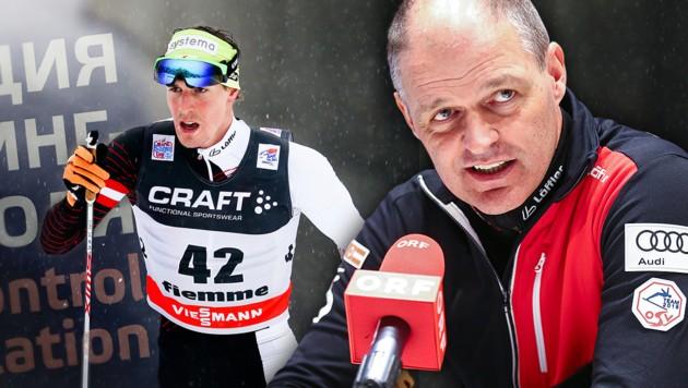 Johannes Dürr, Markus Gandler (Bild: GEPA, krone.at-Grafik)