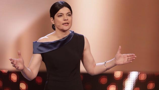 """Jasmin Tabatabai 2017 beim deutschen Filmpreis """"Lola"""" (Bild: AFP)"""