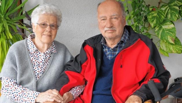 Glücklich wieder zu Hause - Heidemarie und ihr Wolf-Dieter (Bild: Gabriele Moser)