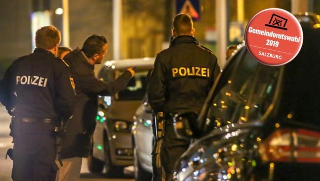 Tatort Lehen: Raubüberfall auf einen Taxifahrer am 26.Februar 2019 (Bild: Markus Tschepp)