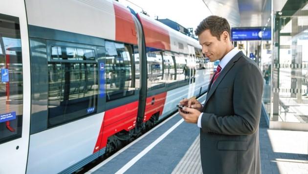 Pendeln mit der Bahn (Bild: ©Harald Eisenberger)
