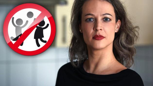 """Die deutsche Autorin Verena Brunschweiger lebt """"kinderfrei""""."""