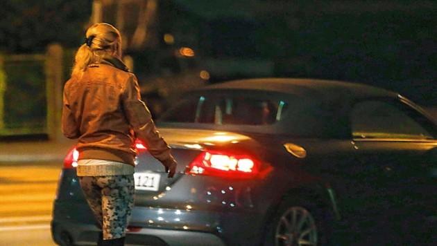 """Die Prostituierte und der Freier wurden bei der """"Tat"""" erwischt (Symbolbild). (Bild: MARKUS TSCHEPP)"""