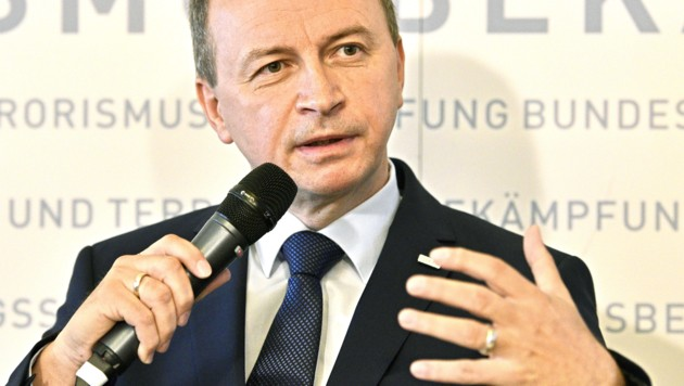 Konrad Kogler (Bild: APA/HANS PUNZ)