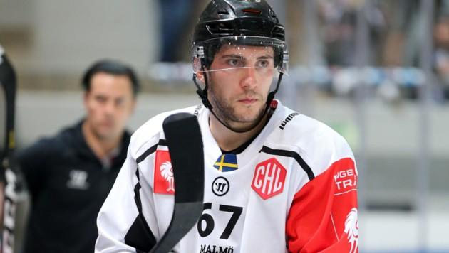 Konstantin Komarek ist Eishockey-Profi und Nationalteamspieler. Mit dem schwedischen Klub Luleå war er vor Corona auf Titelkurs. (Bild: GEPA)