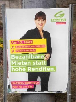 Gerade die Grünen sind grammatikalisch nicht on top, es müsste korrekt hoher oder hohen heißen. (Bild: www.vogl-perspektivew.at)