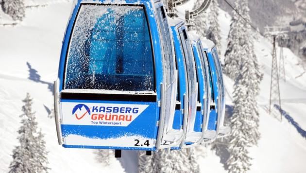 Umlaufgruppenbahn Kasberg (Bild: Klemens Fellner)