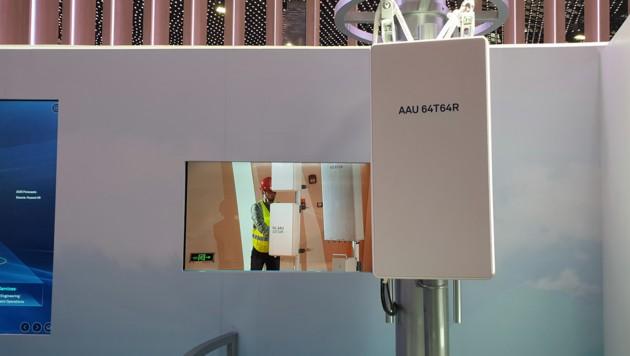 5G-Antennen gibt es groß für den Handymast und in ganz klein für belebte Orte. (Bild: Dominik Erlinger)