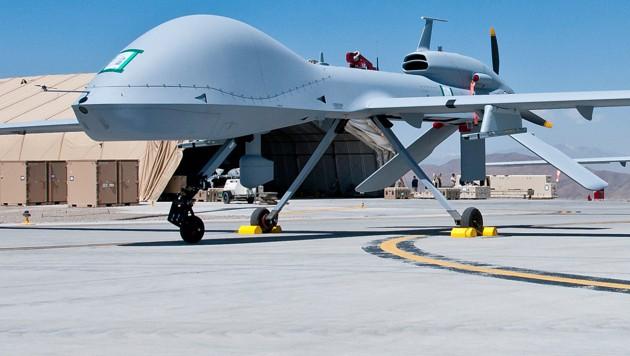 Eine US-Drohne in Afghanistan (Bild: AFP)
