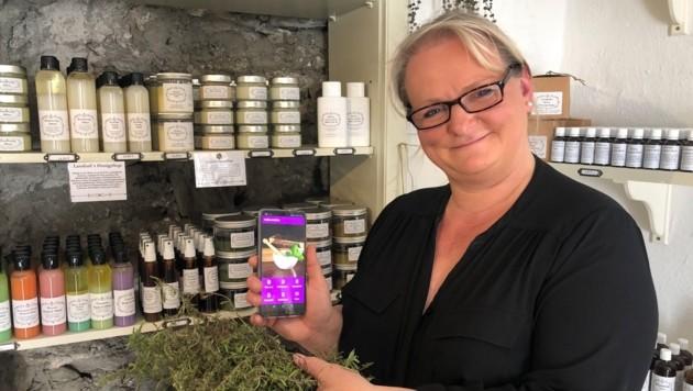 Sabine Pepper aus Gmünd programmierte erste Volksmedizin-App Österreichs (Bild: Elisa Aschbacher)