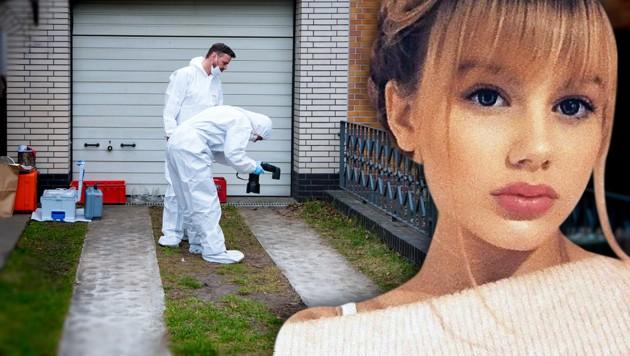 Die 15-jährige Rebecca bleibt verschwunden. (Bild: APA/dpa/Bernd von Jutrczenka, Polizei Berlin, krone.at-Grafik)