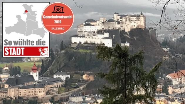 Die Wahl in der Stadt Salzburg (Bild: Wolfgang Fürweger)