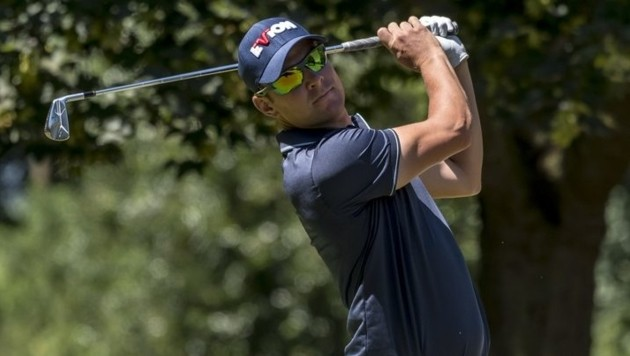 Berni Reiter schlägt in dieser Saison auf der PGA Tour of China ab. (Bild: golfsupport.nl/Jos Linckens)