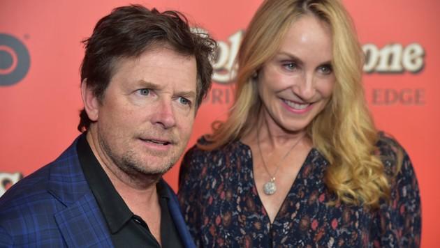 Michael J Fox und Tracy Pollan (Bild: 2017 Getty Images)