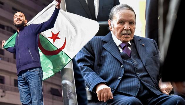 Abdelaziz Bouteflika ist im April als Präsident zurückgetreten.