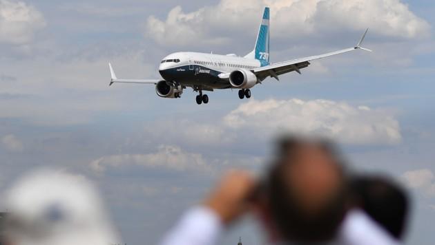 Das Modell Boeing 737 Max (Bild: AFP)