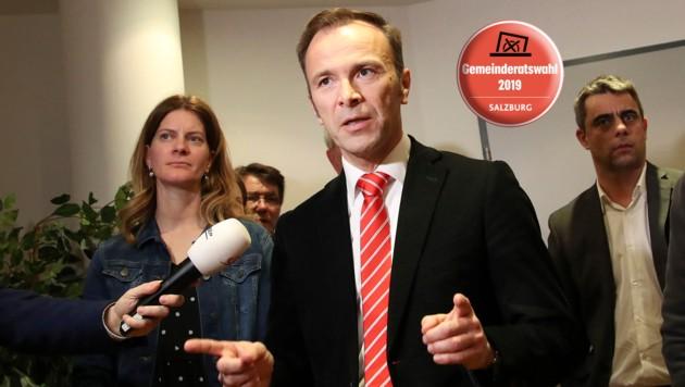 Voll motiviert und mit Kämpferherz geht Bernhard Auinger in die entscheiden Phase der Wahl (Bild: ANDREAS TROESTER)