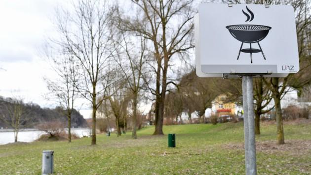 Beim Grillplatz am Donauufer in St. Margarethen geht man nun auf Anrainerwünsche ein. (Bild: © Harald Dostal)