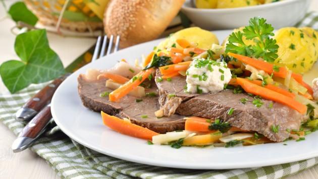Kommt der Tafelspitz aus Österreich? Viele Stimmen fordern eine verpflichtende Kennzeichnung tierischer Lebensmittel in der Gastronomie. (Bild: ©kab-vision - stock.adobe.com)