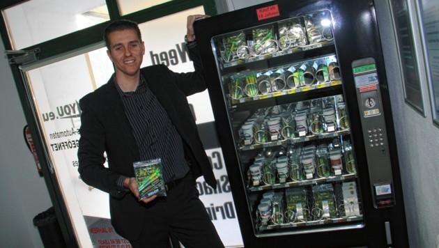 Weed4You betreibt einen CBD-Automaten in Graz. (Bild: Jauschowetz Christian)