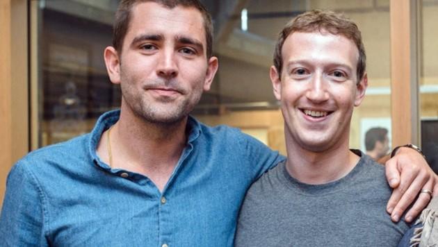 Chris Cox war nicht nur die Nummer drei in der Facebook-Hierarchie, sondern gilt auch als persönlicher Freund des Gründers Mark Zuckerberg. (Bild: facebook.com)