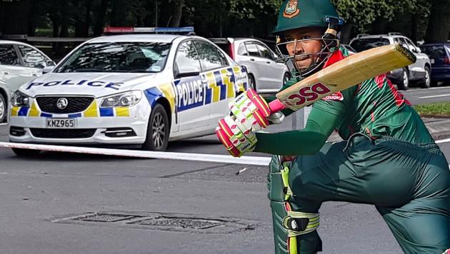 Bangladesch-Cricket-Ass Mushfiqur Rahim (Bild: APA/AFP/Flynn FOLEY, APA/AFP/MUNIR UZ ZAMAN)