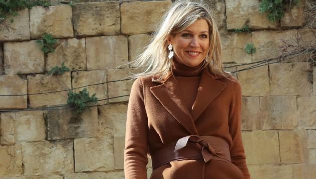 Königin Maxima im Februar 2019 in Jordanien (Bild: Copyright 2019 The Associated Press. All rights reserved.)