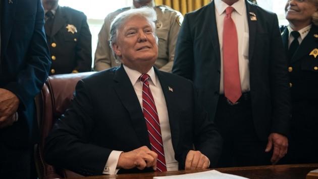 Mauer: Trump legt erstes Veto seiner Amtszeit ein