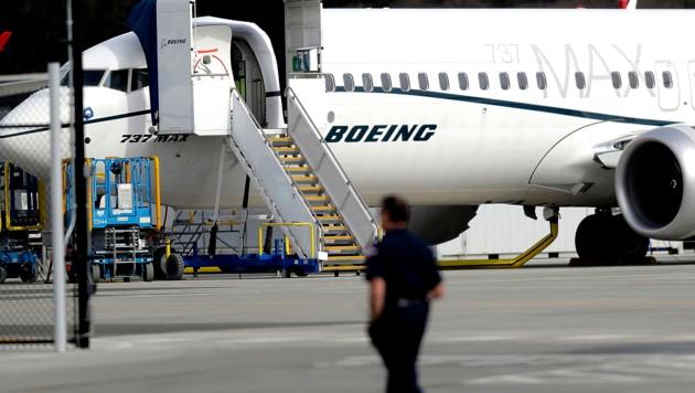 Eine Boeing 737 Max (Bild: AP)