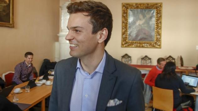 Lukas Rößlhuber flog bei der Wahl am vergangenen Sonntag aus der Stadtregierung. (Bild: Tschepp Markus)