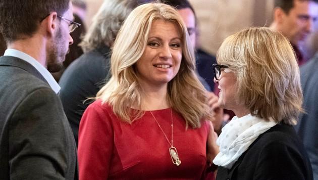 Zuzana Caputova hat beste Chancen, das nächste Staatsoberhaupt der Slowakei zu werden. (Bild: AFP)