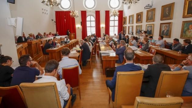 Der neue Salzburger Gemeinderat tagt erstmals am 8. Mai. (Bild: Tschepp Markus)