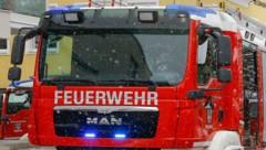 Vier Feuerwehren stehen bei einem Unfall in Eisentratten im Einsatz (Bild: Gerhard Schiel)