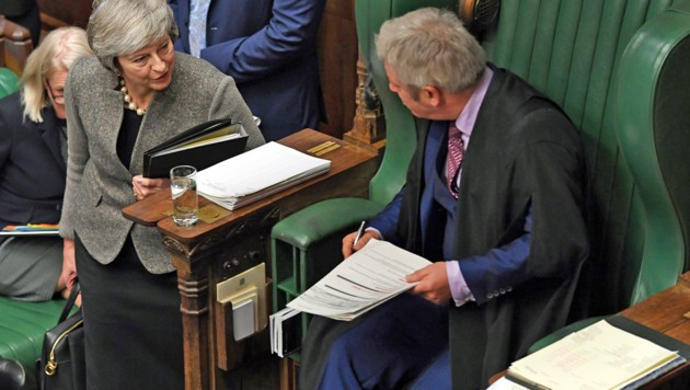 (Bild: APA/AFP/UK PARLIAMENT/JESSICA TAYLOR)