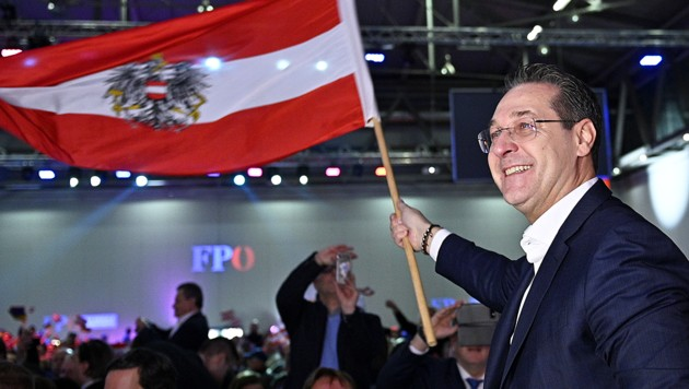 Heinz-Christian Strache, FPÖ (Bild: APA/HANS PUNZ)