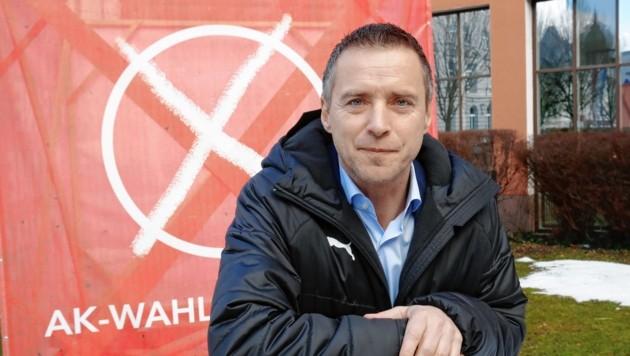 Salzburger Arbeitskammer-Präsident Peter Eder