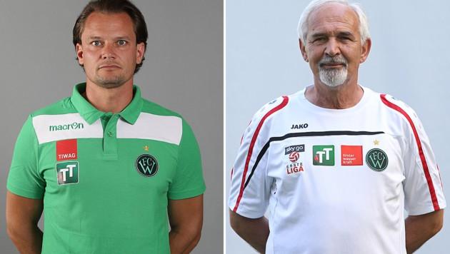 Florian Schwarz und Fuad Djulic (Bild: GEPA)