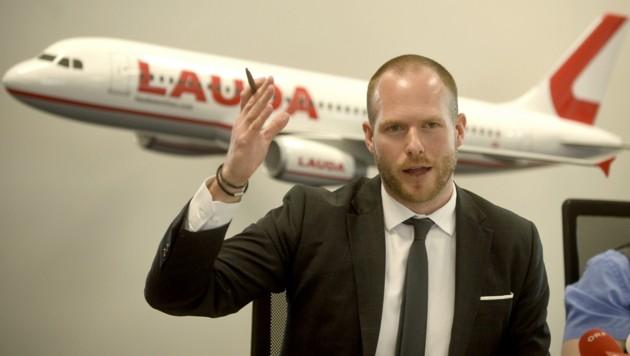 Laudamotion-Chef Andreas Gruber (Bild: APA/Herbert Pfarrhofer)
