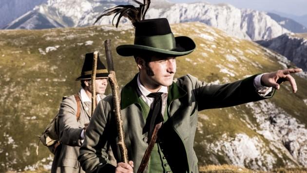 Christoph Schmied als Erzherzog Johann (Bild: © ServusTV / Pre TV)