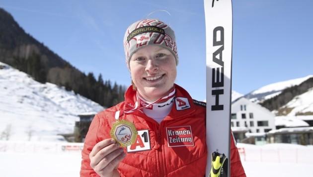 Erstmals ÖM-Gold: Lisa Grill (Bild: Tröster Andreas)