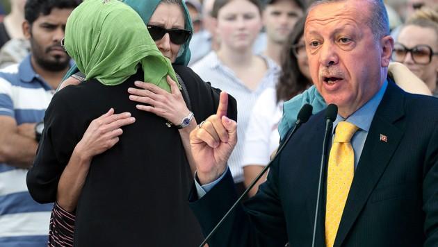 (Bild: APA/AFP/Yasin AKGUL, APA/AFP/Michelle Hyslop, krone.at-Grafik)